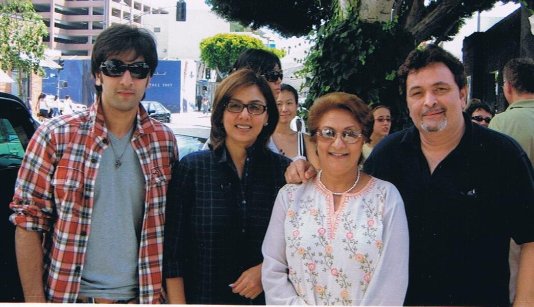 1. with Kapoor family 2008